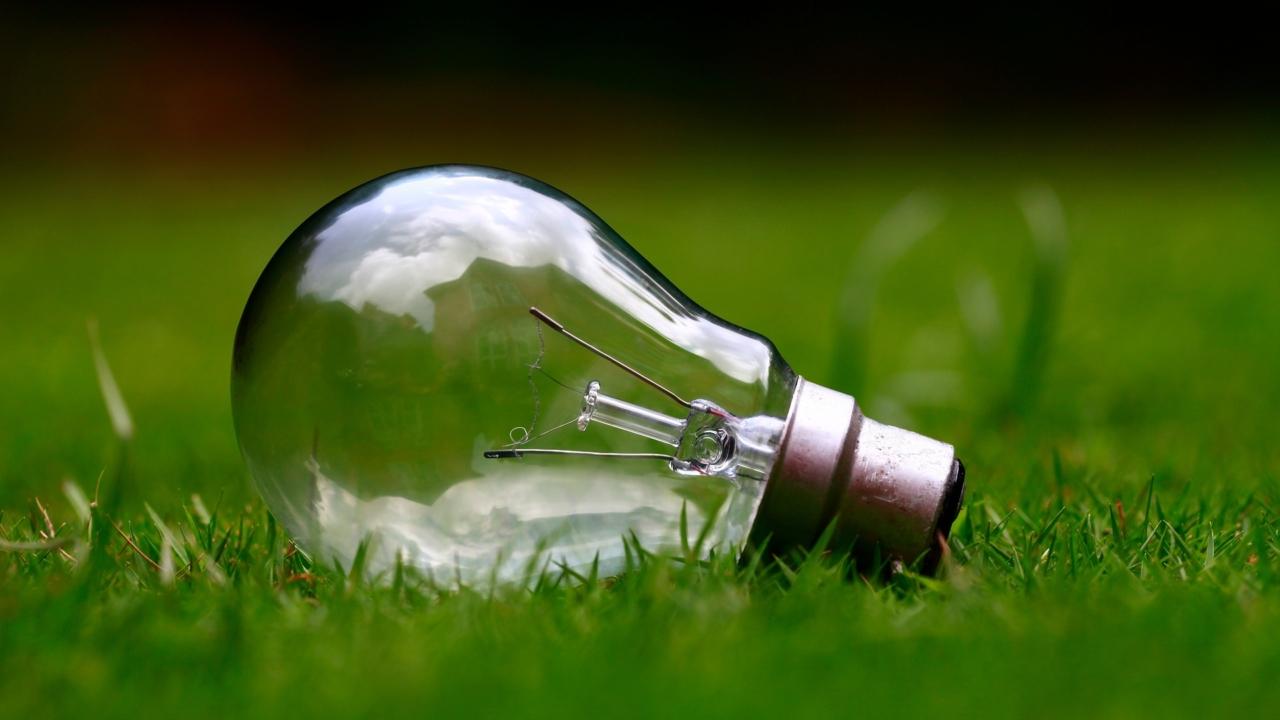 Idé - glödlampa