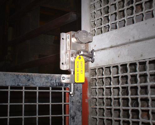 trapped key