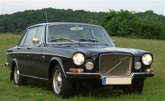 Vintage volvo car